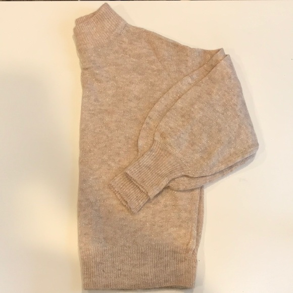 H&M Sweaters - H&M High-Neck Balloon Sleeve Sweater (Size S)